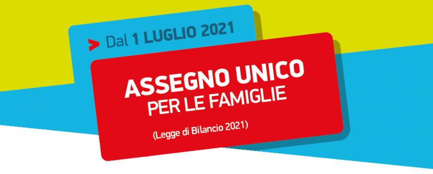 ASSEGNO UNICO FAMIGLIE 2021